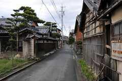 シェアハウス周辺は古い町並みが残っています。ちなみに最寄の海までは歩いて5分程度。(2011-04-23,共用部,ENVIRONMENT,1F)
