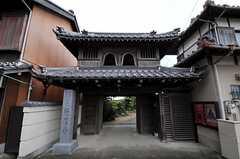 寺も多いエリアです。(2011-04-23,共用部,ENVIRONMENT,1F)