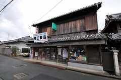 近所の商店。ドラッグストアではなく薬局です。(2011-04-23,共用部,ENVIRONMENT,1F)