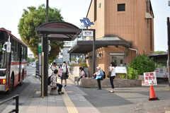 地下鉄南北線・河原町駅の様子。(2018-05-29,共用部,ENVIRONMENT,1F)