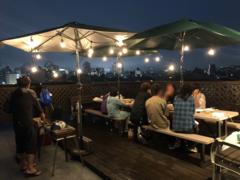 BBQイベントの様子。仙台市内の夜景も綺麗に見えます。 ※事業者様提供素材(2020-07-22,共用部,OTHER,1F)
