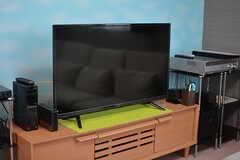 共用TVの様子。(2017-05-01,共用部,TV,1F)