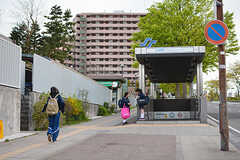 地下鉄東西線・台原駅の様子。(2017-05-01,共用部,ENVIRONMENT,1F)