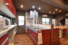 キッチンの様子2。(2015-09-28,共用部,KITCHEN,1F)