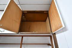 吊り棚の様子。(2017-03-21,共用部,KITCHEN,1F)