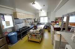 シェアハウスのキッチンの様子。(2008-03-31,共用部,KITCHEN,1F)