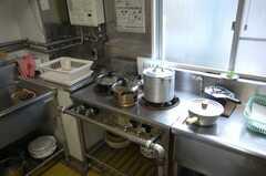 シェアハウスのキッチンの様子3。(2008-03-31,共用部,KITCHEN,1F)