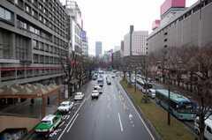 JR各線仙台駅前の様子。(2008-03-31,共用部,ENVIRONMENT,1F)