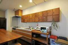 キッチンの様子。(2012-09-29,共用部,KITCHEN,3F)