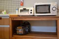 キッチン家電の様子。(2012-09-29,共用部,KITCHEN,3F)