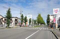 シェアハウス周辺の様子2。コンビニも近くにあります。(2012-09-29,共用部,ENVIRONMENT,1F)