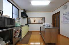 キッチンの様子2。(2012-03-03,共用部,KITCHEN,1F)