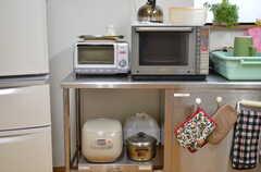 キッチン家電の様子。(2012-03-03,共用部,KITCHEN,1F)