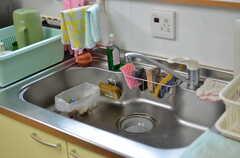 キッチンの様子。(2012-03-03,共用部,KITCHEN,1F)