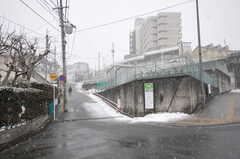 JR仙山線・北山駅前の様子。(2012-03-03,共用部,ENVIRONMENT,1F)