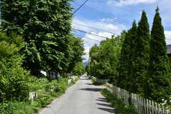 シェアハウス周辺の道路。近隣はホテルなどの宿泊施設が多いエリアです。(2018-06-30,共用部,ENVIRONMENT,1F)