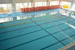 少し足を伸ばせば、町営のプールも利用できます。(2016-03-28,共用部,ENVIRONMENT,1F)