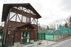 由緒ある町営のテニスコートも利用できます。(2016-03-28,共用部,ENVIRONMENT,1F)