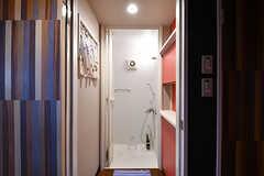シャワールームの様子。(2017-07-22,共用部,BATH,1F)