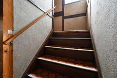 階段の様子。(2017-07-22,共用部,OTHER,1F)