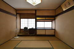 専有部の様子。畳の和室。(2017-07-22,専有部,ROOM,2F)