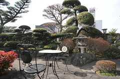 庭の様子。(2014-01-28,共用部,OTHER,1F)