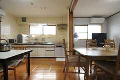 キッチン・ダイニングの様子。(2014-01-28,共用部,KITCHEN,1F)