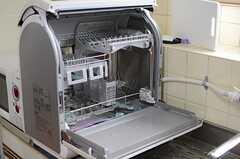 食器洗浄器もあります。(2014-01-28,共用部,KITCHEN,1F)