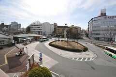 近鉄奈良線・東生駒駅前の様子。(2014-01-28,共用部,ENVIRONMENT,1F)