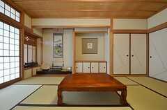 床の間付きです。(101a号室)(2015-07-30,専有部,ROOM,1F)