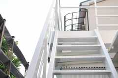 階段の様子。(2014-07-01,共用部,OTHER,1F)