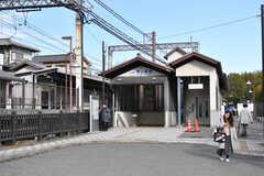 近鉄橿原線・西ノ京駅の様子。(2019-01-20,共用部,ENVIRONMENT,1F)