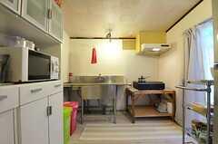 キッチンの様子。(2012-01-15,共用部,KITCHEN,1F)