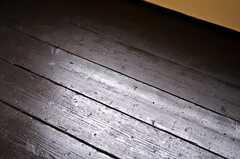 床の様子。(205号室)(2012-01-15,専有部,ROOM,2F)