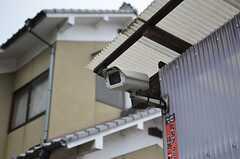 監視カメラも付いています。(2012-01-15,共用部,OTHER,1F)