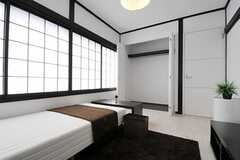 収納の様子。(202号室)(2011-04-03,専有部,ROOM,2F)