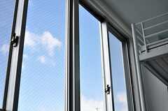 日当たり良し。青い空が広がります。(310号室)(2012-02-02,専有部,ROOM,3F)