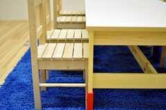椅子とテーブル。(2012-02-02,共用部,OTHER,1F)