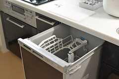 食洗機も付いています。(2013-07-01,共用部,KITCHEN,2F)