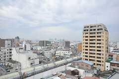 窓からの景色。(1052号室)(2012-03-22,専有部,ROOM,10F)