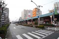 各線・布施駅前の商店街。(2016-02-01,共用部,ENVIRONMENT,1F)