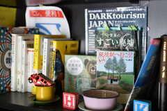 入居者さんが好きな本・おすすめの本を並べています。個性がでて面白い!(2014-03-05,共用部,OTHER,1F)