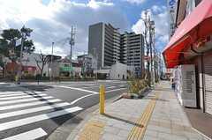 近鉄大阪線・俊徳道駅の周辺の様子。(2015-01-12,共用部,ENVIRONMENT,1F)