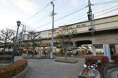 近鉄奈良線・河内小阪駅の様子。(2015-01-12,共用部,ENVIRONMENT,1F)
