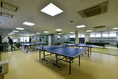 卓球スペースの様子2。(2019-05-15,共用部,OTHER,2F)