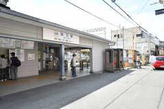 近鉄大阪線・弥刀駅の様子。改札の目の前がシェアハウスです。(2019-05-15,共用部,ENVIRONMENT,1F)