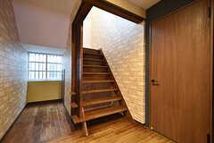 階段の様子。(2016-10-01,共用部,OTHER,1F)