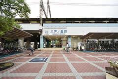 近鉄奈良線・八戸ノ里駅の様子。(2016-10-01,共用部,ENVIRONMENT,1F)
