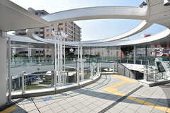JR京都線・茨木駅の様子2。(2016-08-08,共用部,ENVIRONMENT,2F)