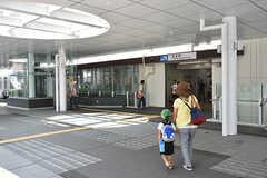 JR京都線・茨木駅の様子3。(2016-08-08,共用部,ENVIRONMENT,2F)